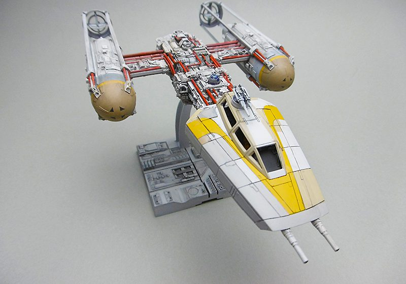 BANDAI 1/72 scale Y-WING STARFIGHTER  Gold Squadron Gold Five