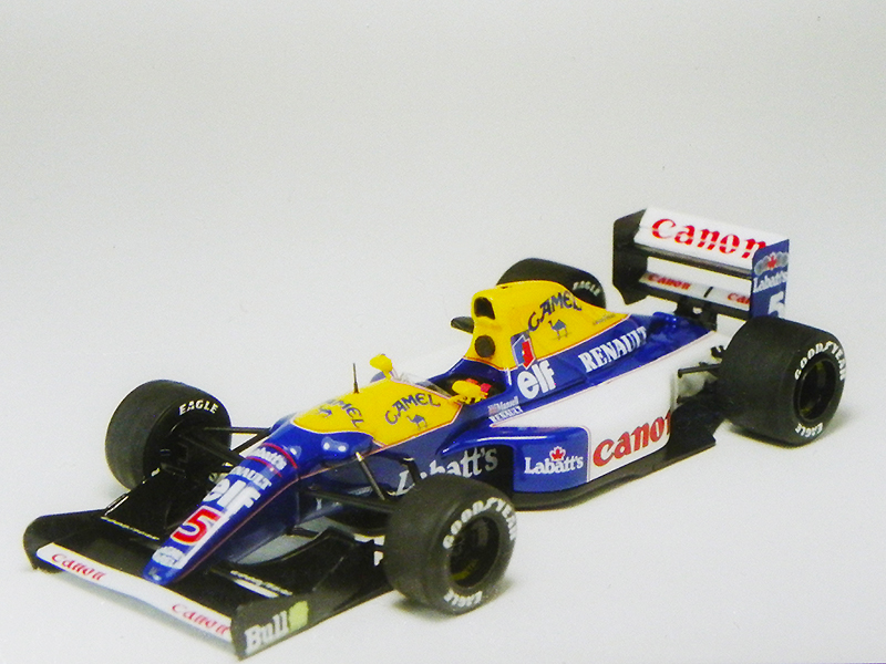 1/43 TAMEO  Williams Renault FW14b    South African G.P.