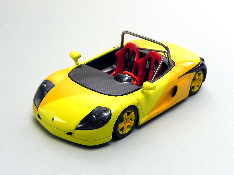 1/43 PROVENCE MOULAGE   RENAULT Sports Spider / Original coloring