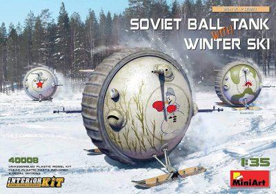 ソビエト架空戦車 ジオラマ「白銀の会議」