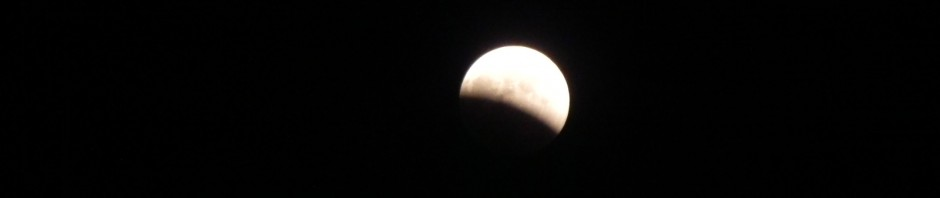 a total eclipse of the moon.