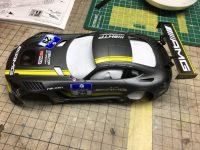 タミヤ 1/24 メルセデスAMG GT-3 part2