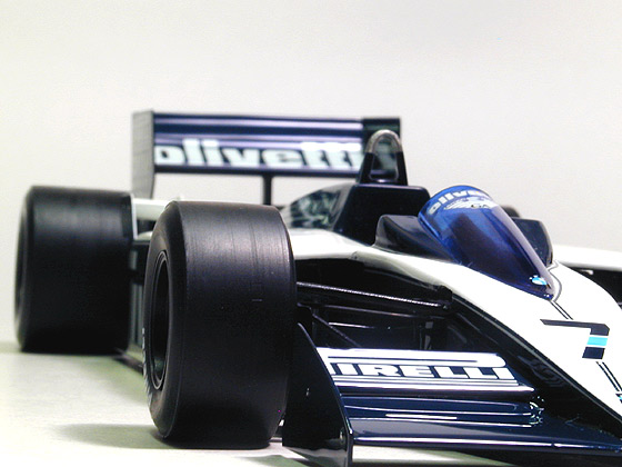 BRABHAM – BMW BT55 (Sold out.)