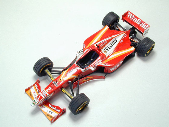 1/43 TAMEO  Williams Mecachrome FW19 (SOLD OUT.)