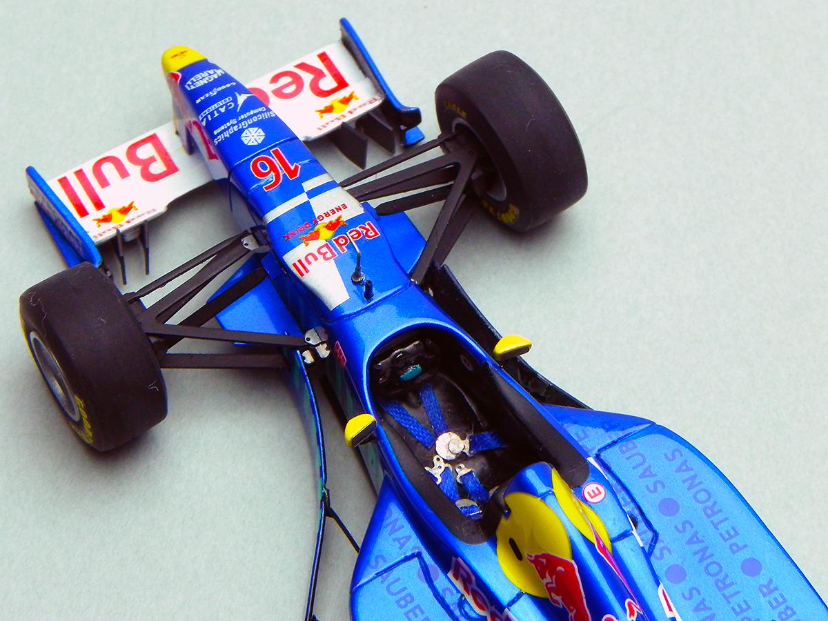 1/43 TAMEO SAUBER PETRONAS C16   HungarianG.P. 1997