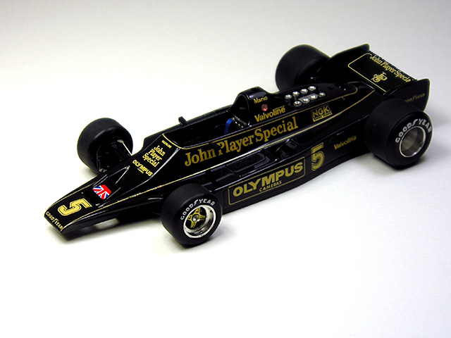 1/43 silverline  Lotus Ford Type 80 JPS (Fanciful)